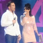 Channel 4 Comedy Gala - Alex Reid - Katie Price - O2
